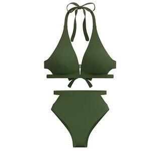 High Waisted Swimsuit Bikini